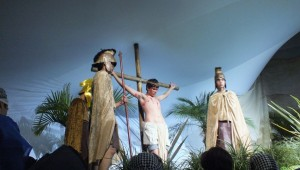 Imagens fortes da cantata na capital curitibana