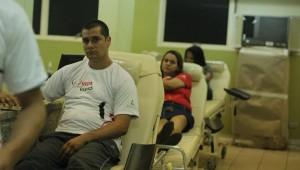 Adventistas lotam Hemosul, em Campo Grande-MS.