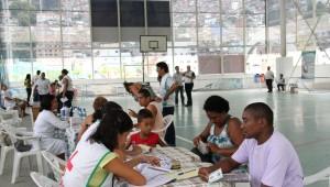 Parceria garantiu orientação importante de saúde na Rocinha