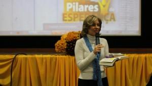 Denise Lopes, líder do ministério da mulher para o sul do Brasil.