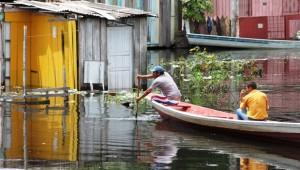 Cheia deixa mais da metade das cidades do AM em emergência. Foto: G1