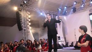 Pastor Elmar Borges, líder dos jovens adventistas do sul do país.