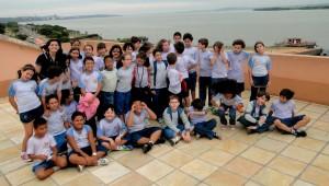 Alunos do 4o. ano do Colégio Adventista de Porto Alegre.