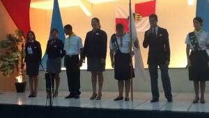 Jovens envolvidos com a missão participam de vigília em Alagoas.