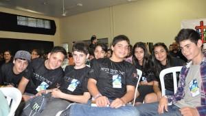 O Adolecamp da ASP destacou também o projeto Fiel como Daniel, realizado em toda a região sul do Brasil.