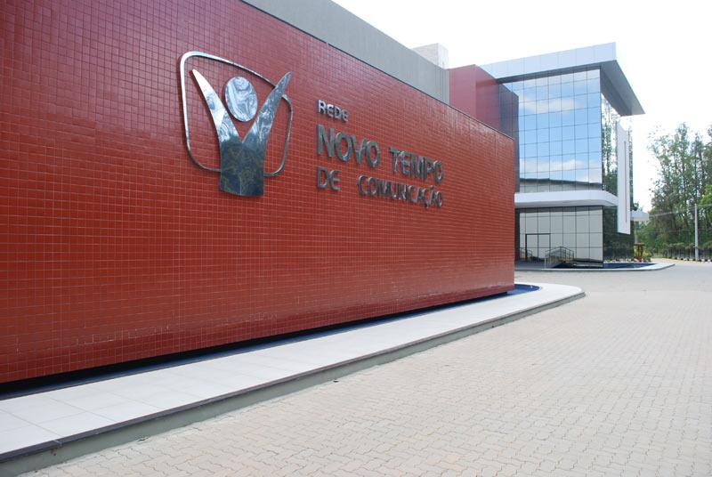 Vista lateral das Novas instalações da NT