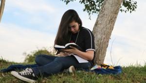 Cada adolescente teve 1 hora para ficar a sós com Deus em meio a natureza.