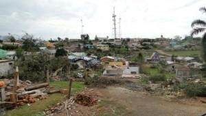 Três bairros, além do centro da cidade, foram atingidos.