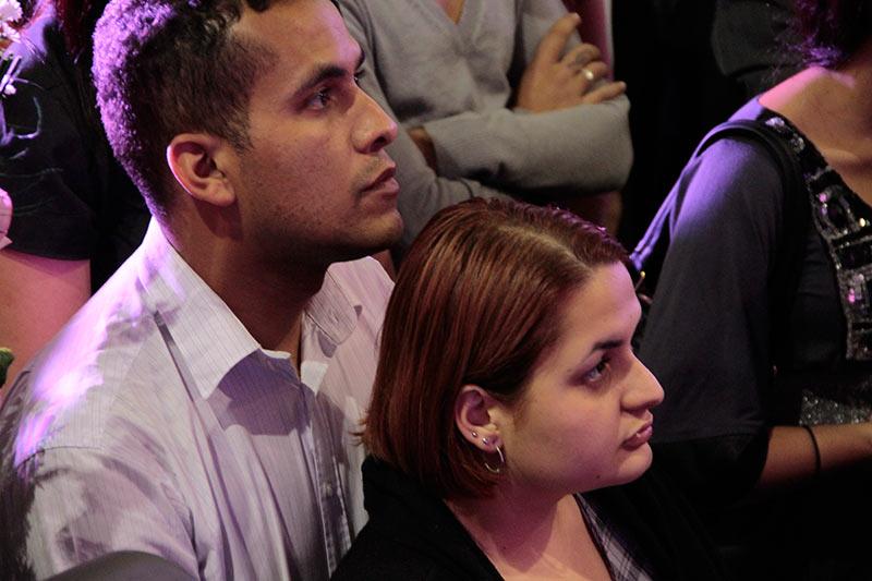 Casal Celso e Letícia sensibilizados com o apelo