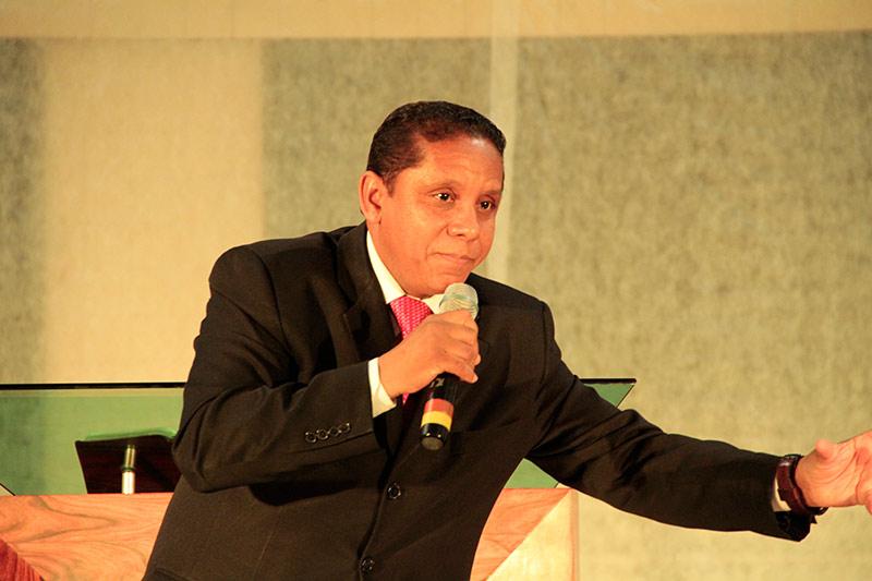 Evangelista Luis Gonçalves orador oficial do programa