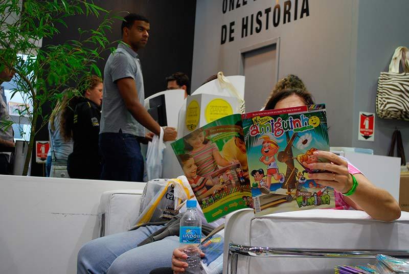 Artigos infantis é a preferência dos clientes da editora