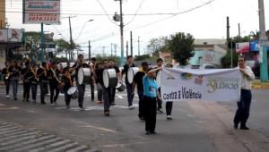 Passeatas marcaram a necessidade de consciência da comunidade