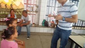 Foram atendidas cerca de 200 pessoas e aconteceu na Escola Municipal Chico Santeiro.