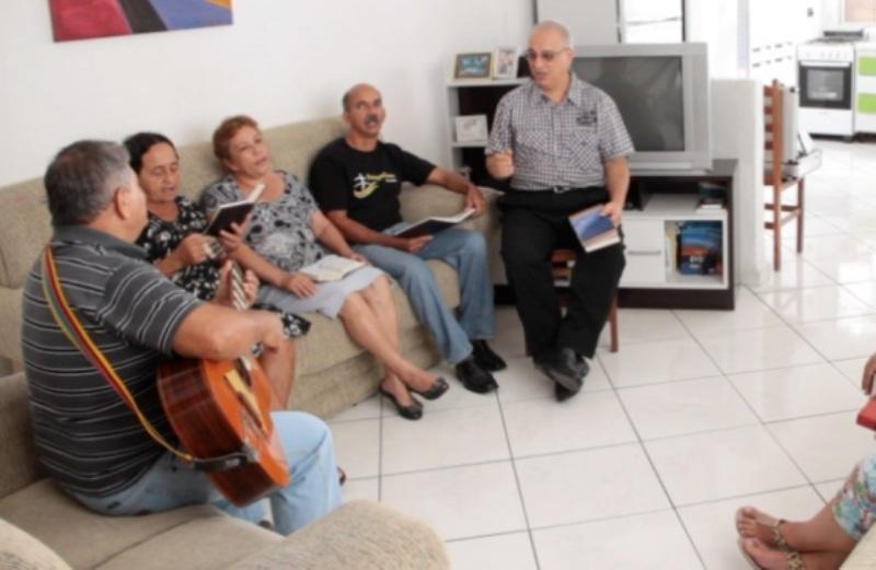 Pequeno Grupo na cidade de Praia Grande