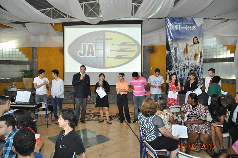 Líderança jovem reunida em Santa Isabel por três dias