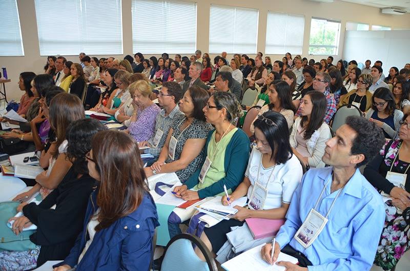 O evento contou com participantes de outros países