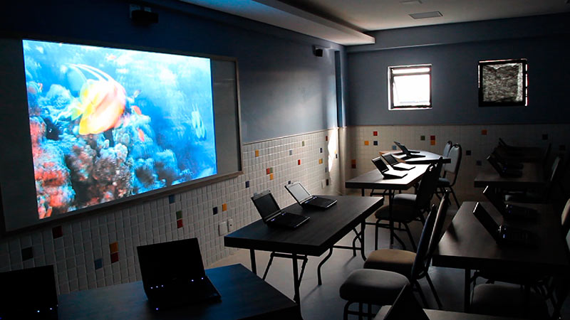 1ª sala 3D na Rede Educacional Adventista