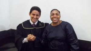 Batismo selou amizade de Ana com Eunice e com Cristo