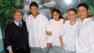 A mensagem impressionou toda a família Sampaio.