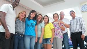 Grupo adventista em Santos: testemunho anual