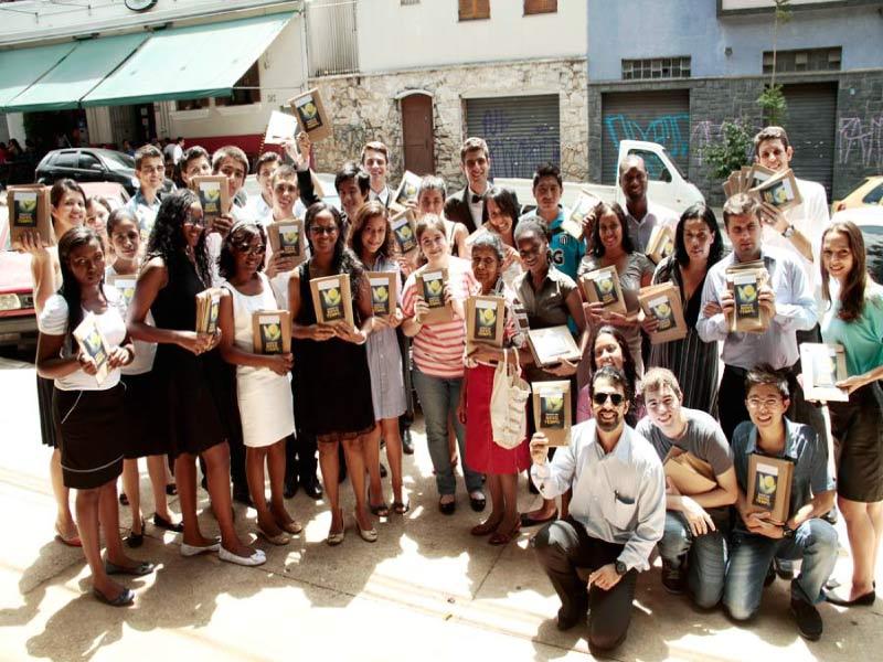 Jovens da Igreja Central Paulistana