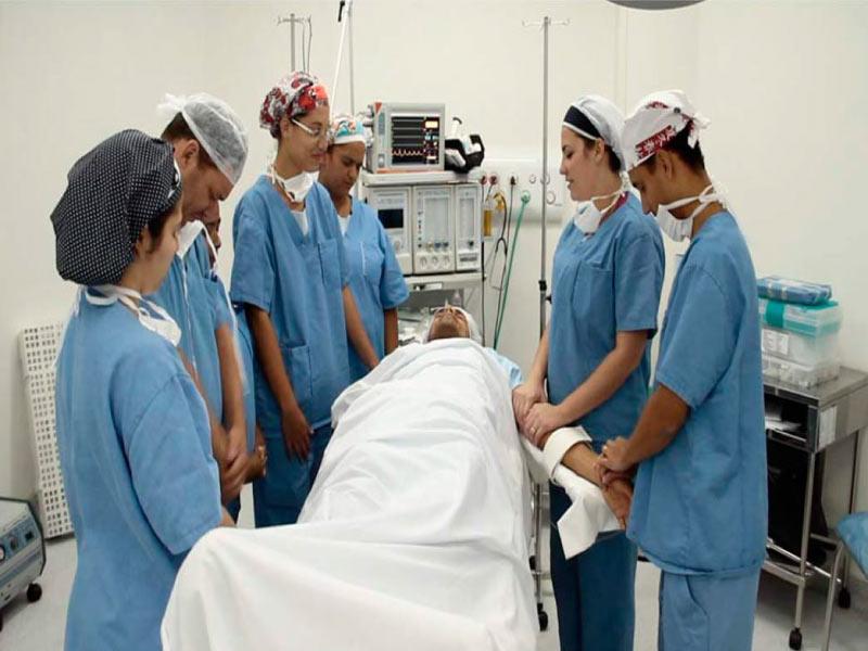 Oração antes da cirurgia