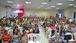 Durante o evento houve divulgação do projeto de 10 dias de oração e jejum.