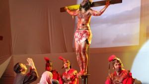 O musical Você é a Paixão de Cristo aconteceu na Igreja Adventista Central de Porto Alegre e marca o início da Semana Santa