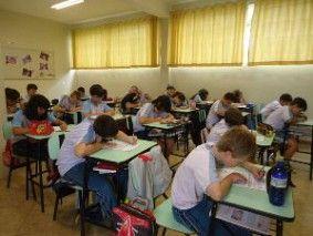 Prova foi aplicada junto a alunos do quinto ano do Ensino Fundamental I.