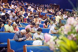 Jovens mobilizaram a igreja a orar por 10 dias