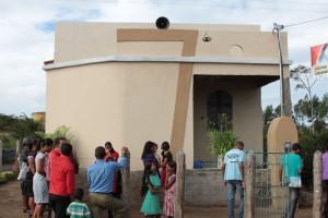Primeira Igreja implantada através do projeto Santuários de Esperança.