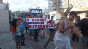 Flash mob é organizado por jovens adventistas em Joinville