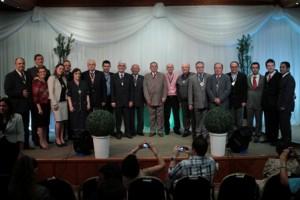 Comemoração reuniu líderes do HAB, do passado e do presente.