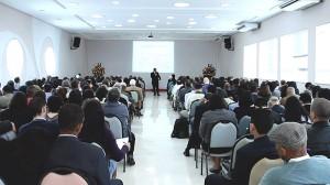 Tesoureiros das igrejas da Associação Paulistana reunidos no CT de Cotia