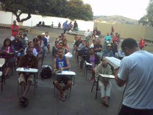 Entre jovens e idosos, 60 pessoas participaram da programação.