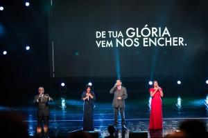 O programa não contemplou apenas o repertório de cada um dos cantores.