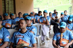 Pastores adventistas durante o 1° Pastori no Estado do Tocantins