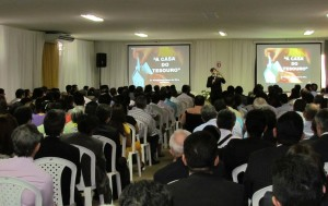 O evento recebeu como palestrante o advogado do departamento Jurídico da Igreja Adventista na América do Sul, Luigi Braga.