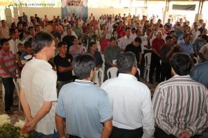Um grupo com mais de 350 líderes formados por anciãos, líderes de pequenos grupos e líderes Calebes.