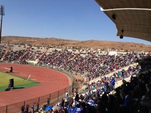 Aproximadamente 30 mil pessoas compareceram ao estádio Lucas Masterpieces.
