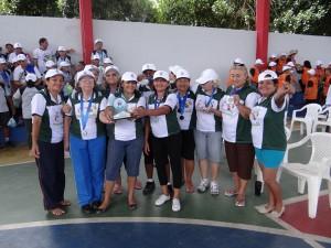 As modalidades esportivas de ginástica aeróbia, natação, corrida de revezamento, arremesso de dardos, dentre outras atividades fizeram a alegria dos acampantes.