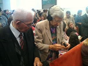 Dona Jurema Chagas ficou muito satisfeita com a iniciativa.