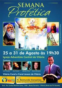 Cartaz convite do programa