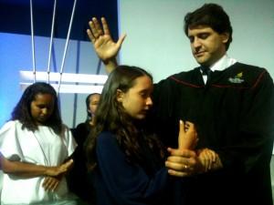 criança-batismo