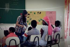 Estudantes do Unasp encararam o frio da serra catarinense para ajudar comunidade quilombola (foto: acervo pessoal Adriano Vargas)