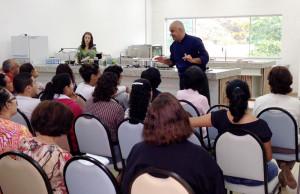 Palestra ensinou a fazer pratos saudáveis e saborosos