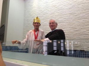 Batismo da primavera Baixo Guandu/ES