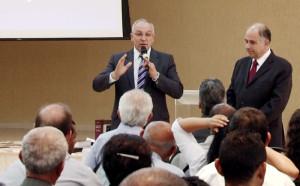 Pr. Ismael Forti em último evento como secretário assistente ministerial