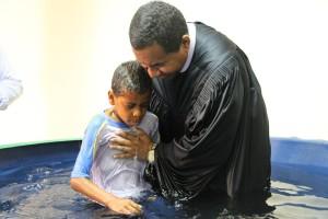 Batismo juvenis Capela ARS