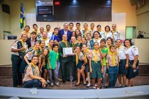 Mais de 200 desbravadores e líderes das Igrejas Adventistas do Estado de Rondônia participaram do evento.